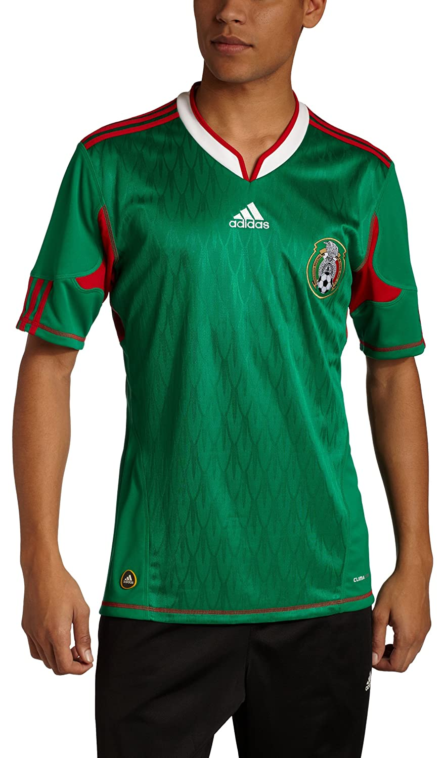 3e28be3a1c2 Amazon.com   adidas Mexico Mens Home Jersey   Sports Fan Soccer Jerseys    Sports   Outdoors