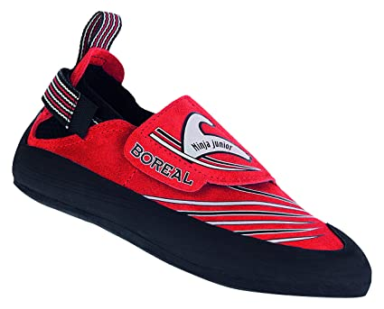 Amazon.com: Boreal Ninja Jr. Climbing Shoe - Kids Rojo ...