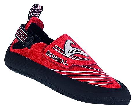Amazon.com: Boreal Ninja Jr. Climbing Shoe - Kids Rojo ...