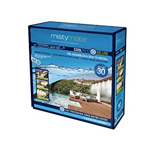 MistyMate 16031 Cool Patio 30 Deluxe Outdoor Misting Kit