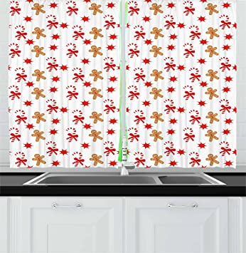 Gingerbread Kitchen Curtains Interesting Ideas