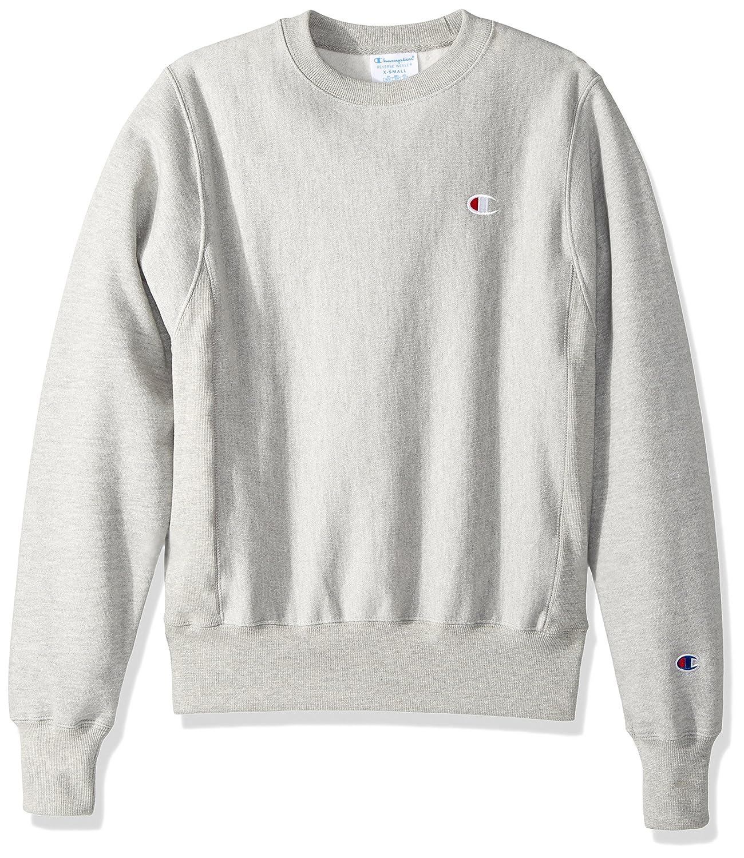 Champion LIFE Mens Reverse Weave C Logo Crew Neck Sweatshirt
