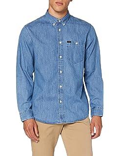 Lee Button Down Camisa para Hombre: Amazon.es: Ropa y accesorios