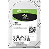 Seagate 4TB Barracuda Sata 6GB/s 128MB Cache 2.5-Inch 15mm Internal Bare/OEM Hard Drive (ST4000LM024)