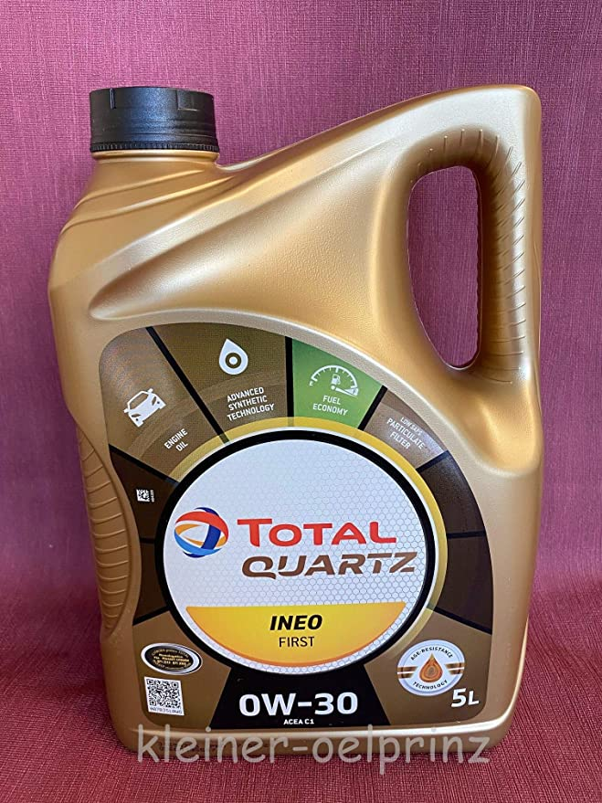 Total Quartz Ineo First 0w 30 Acea C1 Im 5 Ltr Kanister Auto