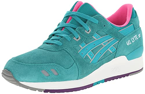 sports shoes 83b08 dde0d Asics Girl's Gel-Lyte Iii Ankle-High Tennis Shoe