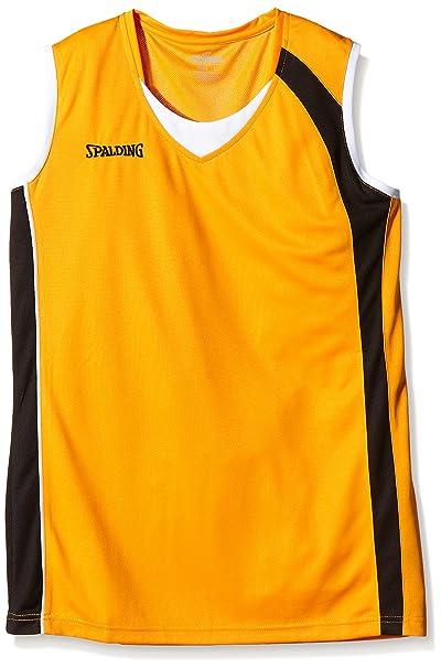 Spalding 4her - Camiseta de Baloncesto para Mujer, Color Azul