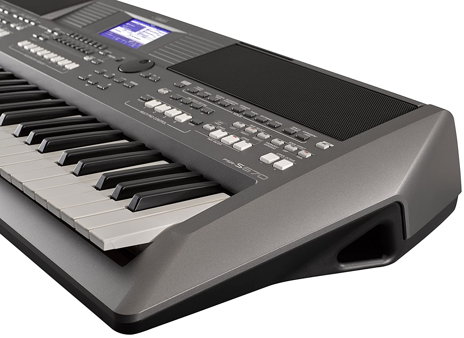 ... Keyboard with Onboard Stereo Speakers and MegaVoice Articulation Technology with Keyboard Stand, Sustain Pedal and Headphones: Musical Instruments