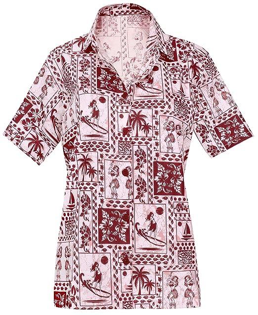Cuello de la Camisa Blusas Novio Hawaiano Bebe Casual Manga Corta de Red