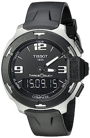 tissot t race mens rubber alarm chronograph compass watch tissot t race mens rubber alarm chronograph compass watch t0814201705701