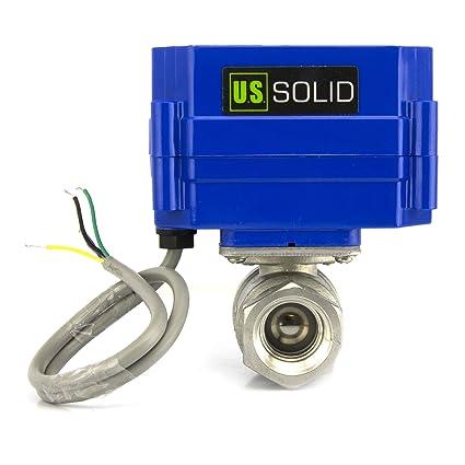 amazon com motorized ball valve 3 4 stainless steel electrical rh amazon com