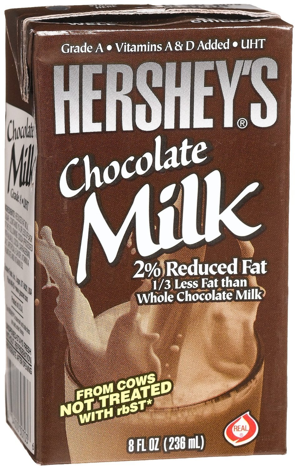 Hershey's 2% Chocolate Milk, 27- 8 Ounce Aseptic Boxes (Chocolate ...