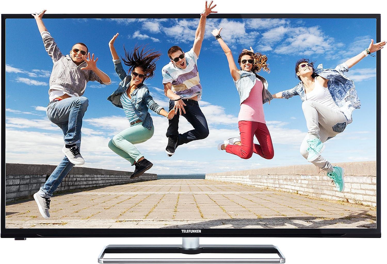 Telefunken LED-Fernseher 102 cm 40 Zoll L40F278X3CW-3DU EEK A DVB-T, DVB-C, DVB-S, Full HD, 3D, Smar: Amazon.es: Electrónica