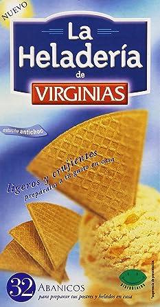 La Heladería de Virginias - Abanicos para preparar postres y helados en casa - Galleta barquillo