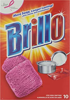 product image for Brillo Steel Wool Soap Pad, 10 ct