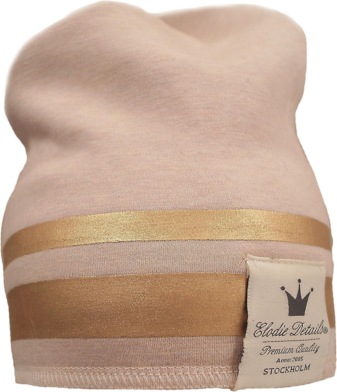 Elodie Details Bonnet dhiver 2/–3/ans, rose et dor/é