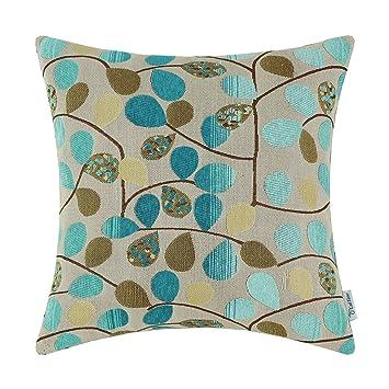 Sofa Cushion Covers Amazon: Amazon com  CaliTime Cushion Cover Throw Pillow Case Shell for    ,