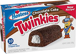 product image for Hostess Chocolate Cake Twinkies, 10 Count, 13.58 Ounce (Pack of 1)