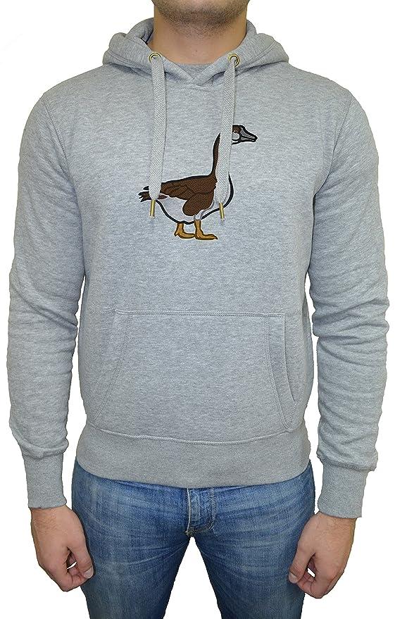 Ganso Hombre Sudadera Sudadera Con Capucha Pullover Gris Todos Los Tamaños | Mens Sweatshirt Hoodie Pullover Grey: Amazon.es: Ropa y accesorios