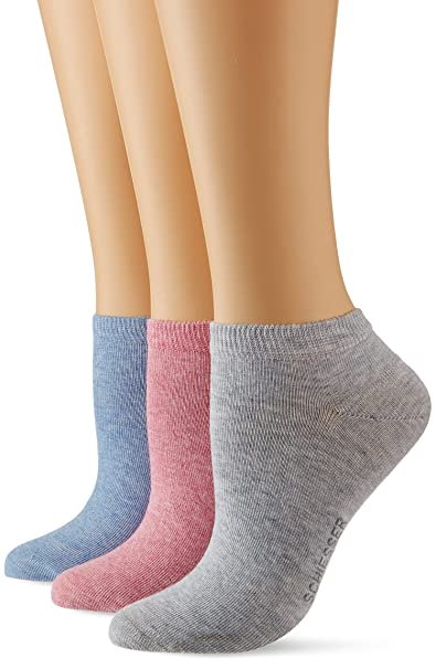 Schiesser Calcetines para Mujer (Pack de 3): Amazon.es: Ropa y accesorios