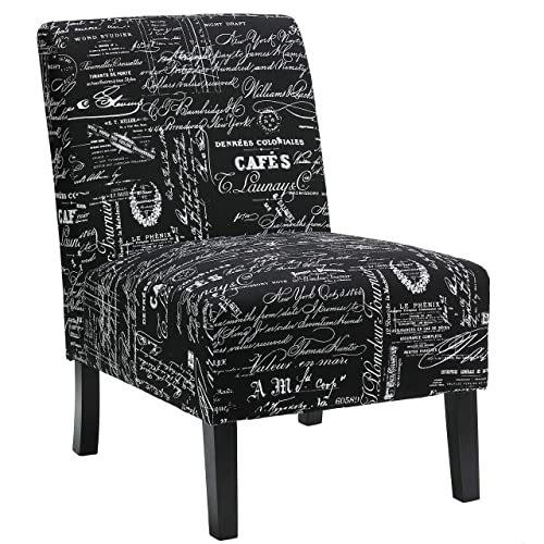 Cortesi Home Chicco Fabric Armless Accent Chair