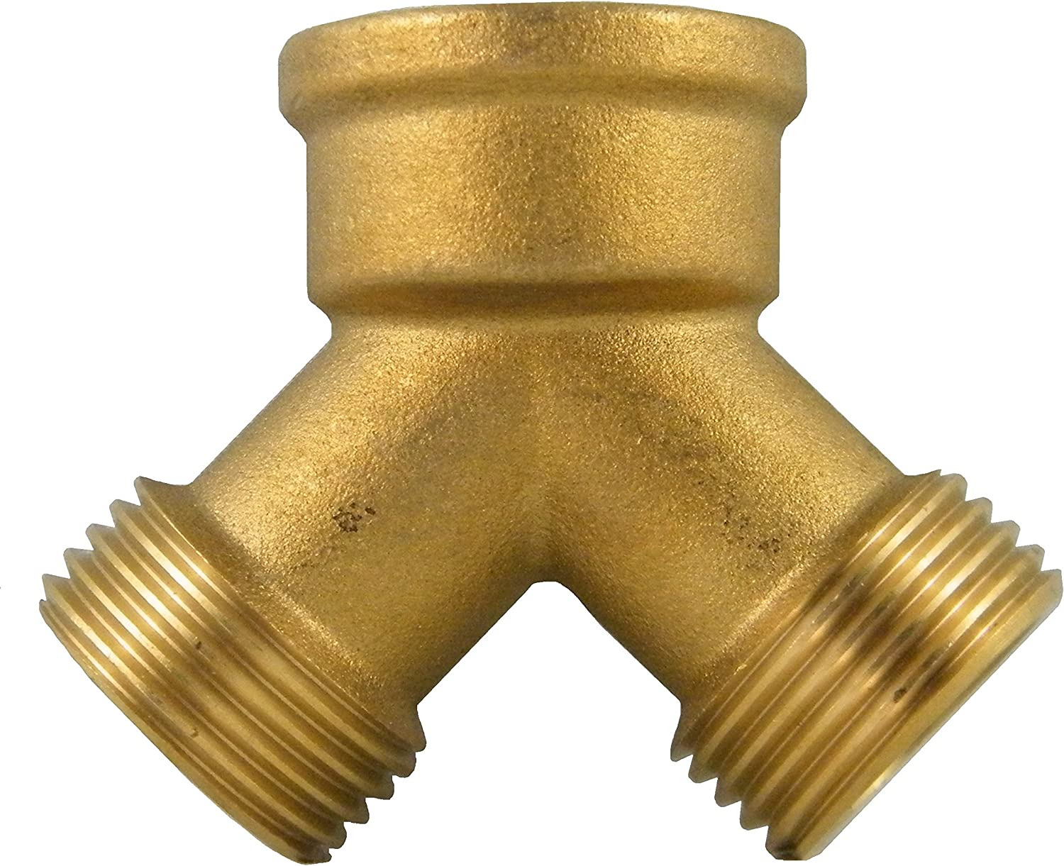 Continental 259-BRS-C Brass 2 Way Connector