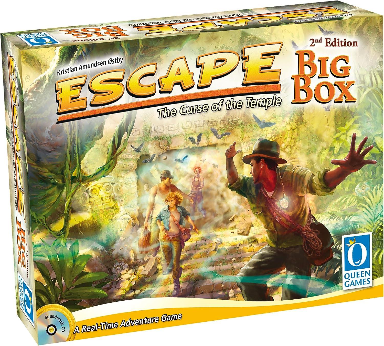 Queen Games Juego de Escape 10353, Caja Grande, Segunda edición ...