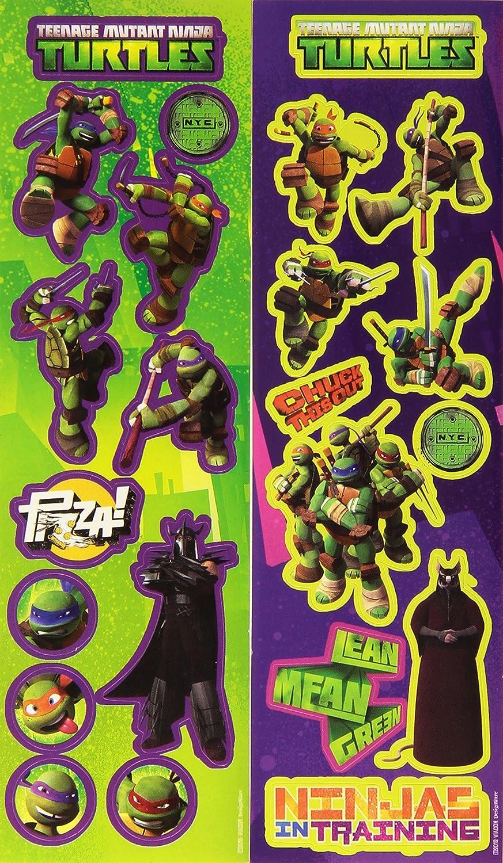 Amscan - Juego de Pegatinas Tortugas Ninja (RM300053 ...