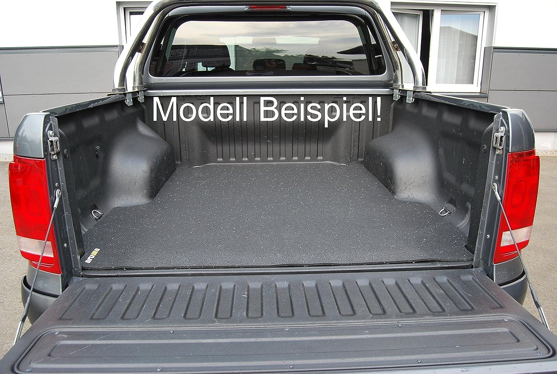 aruma/® Antirutschmatte Laderaummatte Double Cab Boden Doppelkabine mit original Laderaumwanne gemessen 2 Generation ab Baujahr 07//2012 Pickup