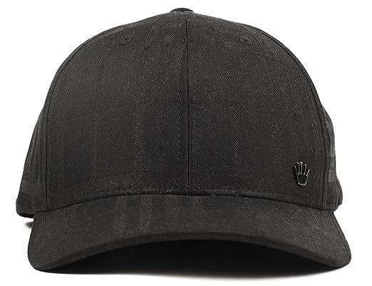 652fd3f534154 No Bad Ideas Hombres Jordan sombrero del flexfit ii x-pequeña negro   Amazon.es  Ropa y accesorios