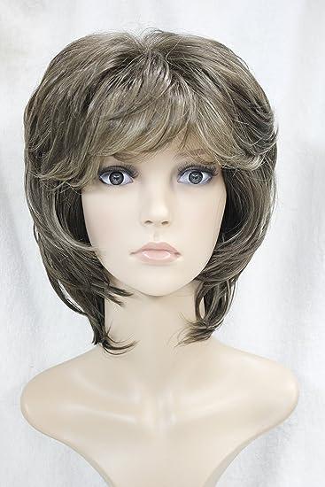 Strongbeauty Fashion Frauen Kurz Pixie Blonde Frisuren Perucke Mit