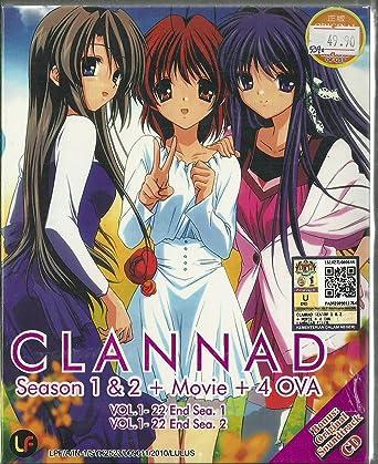 Amazon com: CLANNAD (SEASON 1 + 2) - COMPLETE TV SERIES DVD