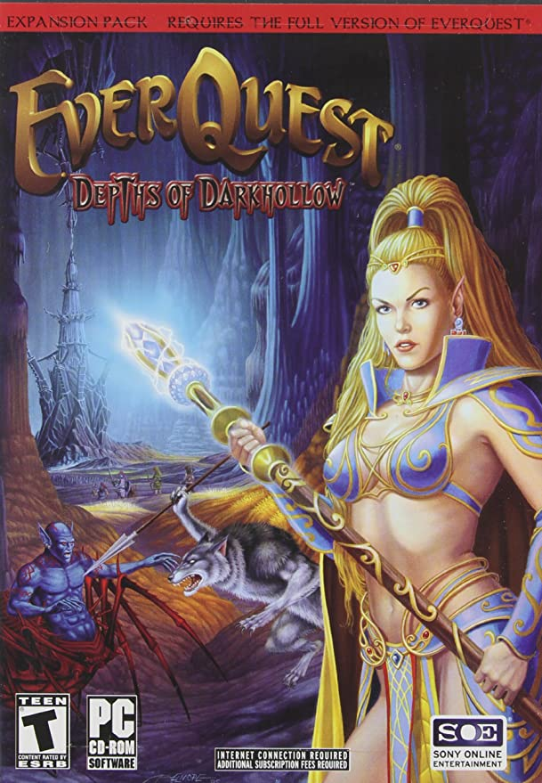 Everquest: Depths - Darkhollow Exp Pk/Game: Amazon co uk: PC & Video