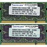 4GB (2X2GB) Memory RAM for Acer Aspire 5532 - Laptop Memory Upgrade - Limited Lifetime Warranty