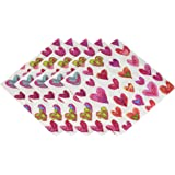 Entertaining with Caspari Happy Hearts Luncheon Napkins, Pack of 20