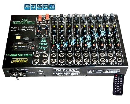 Medha D.J. Plus Sem 9 USB Sound Mixers Mixers
