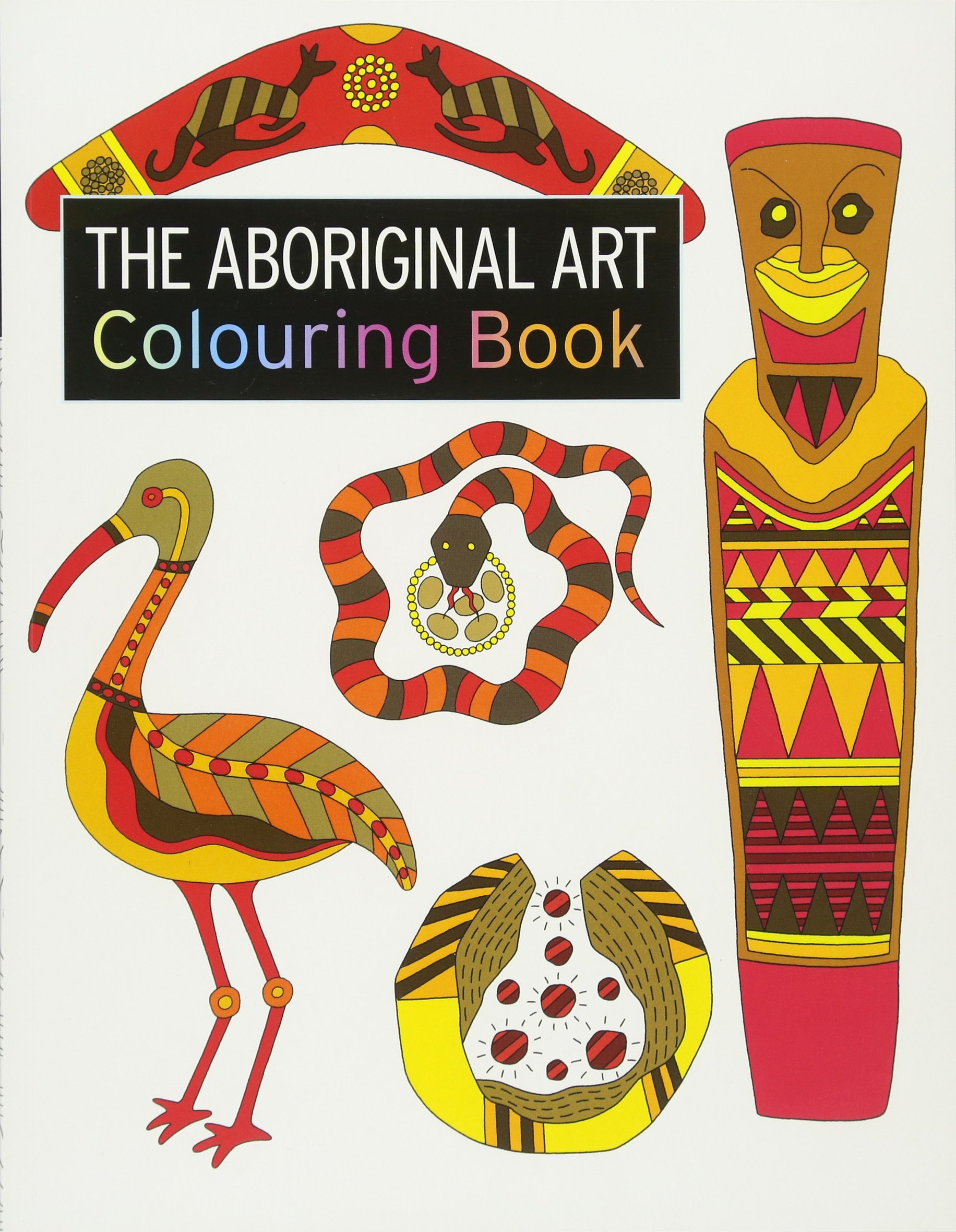 the aboriginal art colouring book the colouring book series