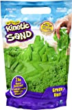 Kinetic Sand The Original Moldable Sensory Play Sand, Green, 2 Pounds