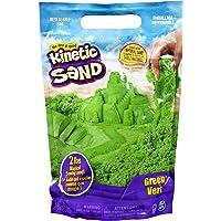 Kinetic Sand The Original Moldable Sensory Play Sand, Green, 2 Pounds