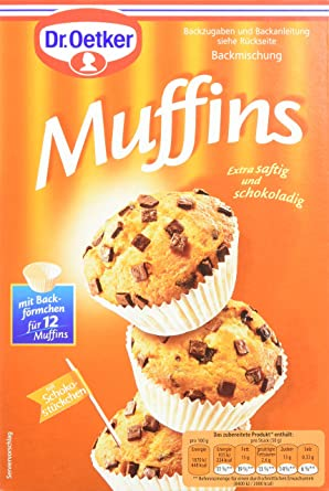 Dr Oetker Muffins 8er Pack 8 X 370 G Amazon De Lebensmittel
