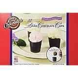 Lang's Chocolates Dark Chocolate Dessert Cups 32 piece box