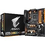 GIGABYTE AORUS GA-AX370-Gaming K5 AMD Ryzen AM4 X370 RGB FUSION SMART FAN 5 HDMI M.2 USB 3.1 Type-C ATX DDR4 Motherboard