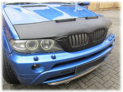 Amazon.com: HOOD BRA Front End Nose Mask for BMW X5 E53 1999-2006 ...