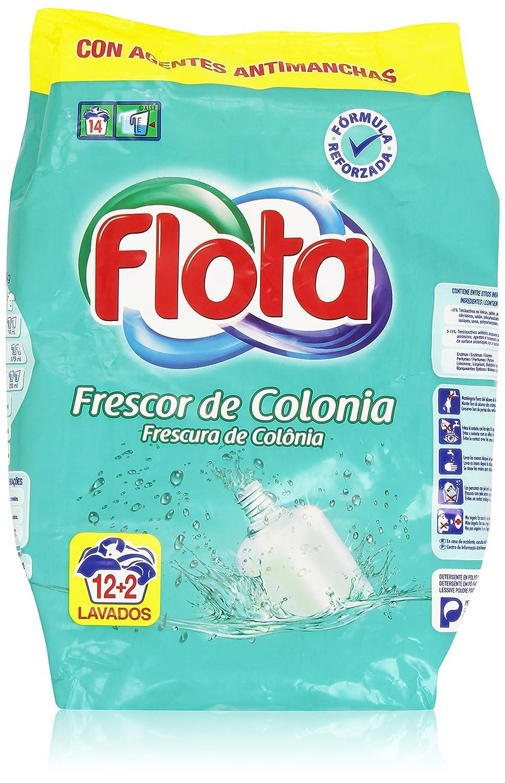 Flota - Detergente para lavadora - Frescor de colonia: Amazon.es ...