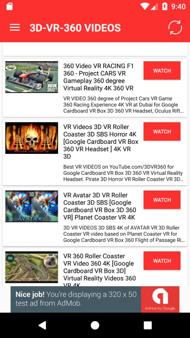 Amazon com: 360 Video: Appstore for Android