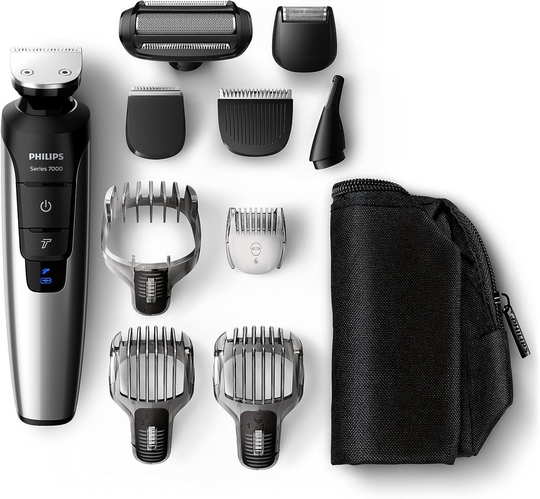 Philips QG3398/15 Serie 7000 PRO - Recortador barba, cabello y cuerpo, 10 en 1: Amazon.es: Salud y cuidado personal