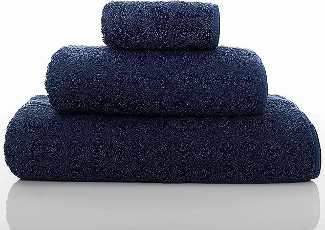 Graccioza - Toalla Larga de Doble Bucle (700 g/m², 100% algodón Egipcio): Amazon.es: Hogar