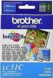 Brother LC51C Cyan Ink Cartridge - Retail Packaging