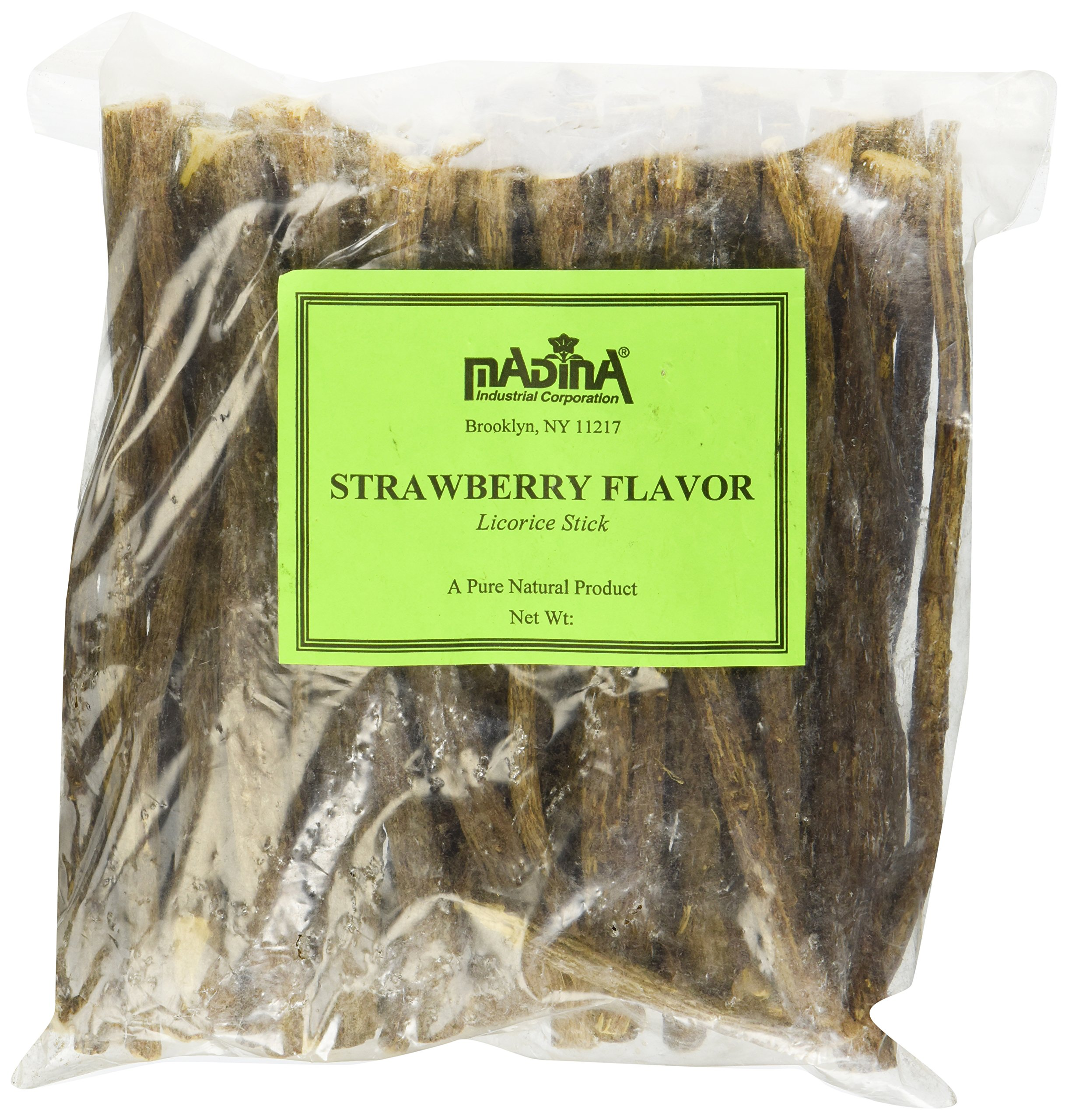 Madina Licorice Stick Strawberry Flavor 1lb