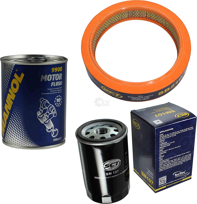 Motor Flush Motorsp/ülung 11582942 Original SCT Inspektionspaket Filter Set